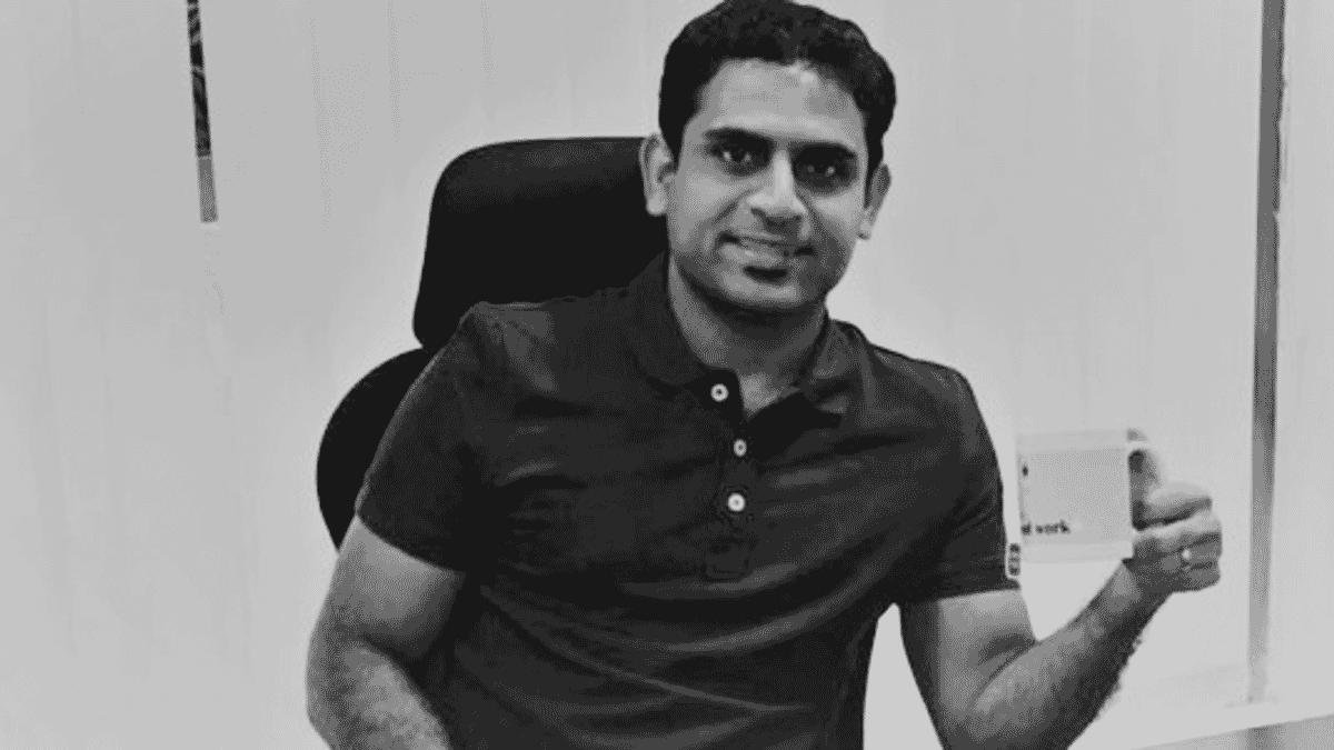 Startup co-founder Malahar Pinnelli